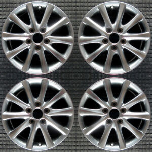 Set 2010 2011 Toyota Camry Oem Factory 4261a06020 4261133680 Wheels Rims 69565