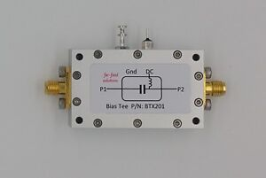 Bias Tee Broadband 50mhz To 8ghz 5a Dc Current