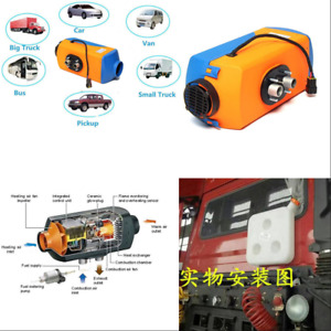 Truck Car Air Diesel gasoline Heater With Lcd Switch Preheat Engine 3kw 5kw 12v