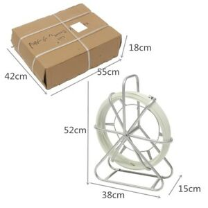 4 5mm Resin Glass Wire Cable Snak Electric Tape Running Rod Duct Rodder Puller