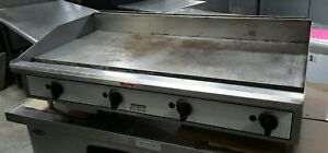 Used 48 Toastmaster Tgm48 Nat Gas Countertop Griddle