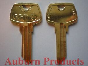 S16 Sargent Key Blank 50 Key Blanks Free Shipping