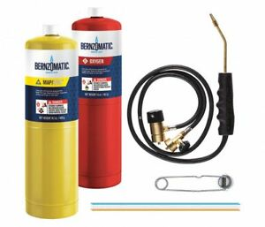 Bernzomatic Brazing Torch Kit With Oxygen Wk5500ox