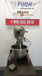 Hobart A120t 12 Qt Commercial Dough Mixer W Timer Includes Beater Whisk