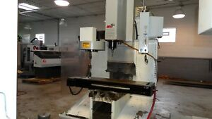 Used Haas Tm 1 Cnc Manual Vertical Machining Center Mill Ct40 10 Station Atc 01