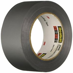 2000 duct tape Electricans Building Tape 2 In X 50 Yd pack Of 12