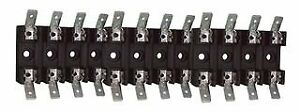 Cooper Bussmann Bk s 8201 5 Fuse Block 6 3 X 32mm Bolt in Mount 10 Pieces