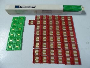 Rare Huge Lot Of 111 1960s Texas Instruments Ti Flatpack Computer Ic Chips Gold