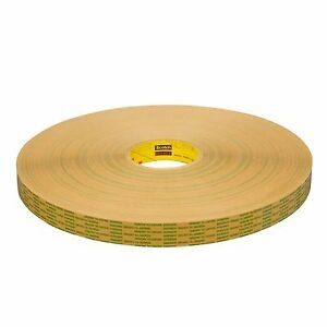 465xl Adhesive Transfer Tape Clear 1 In X 600 Yd pack Of 9