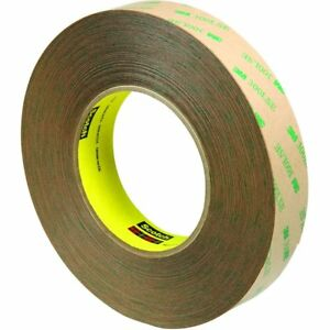 9472le Adhesive Transfer Tape 1 In X 60 Yd Clear pack Of 3