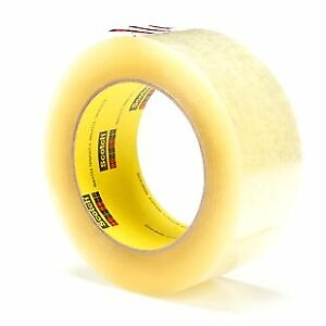 3m 372 clear 48mmx100m Bx Seal Tape Package Qty 36