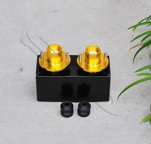 For Civic 88 00 Integra 90 01 Suspension Coilover Shocks Top Hat Mount X2 Gold