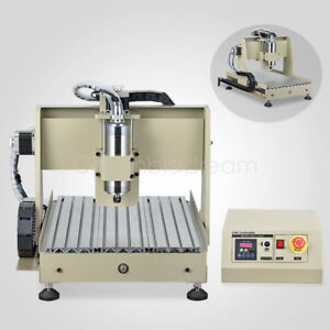 4axis 3040 Cnc Router Engraver Machine 3d Cutter Carving 800w Vfd Spindle