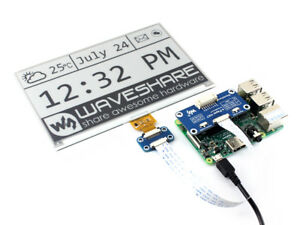 Ws 2 color 7 5inch E paper Module E lnk Display Hat 640x384 Spi For Rpi arduino