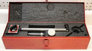 Starrett No 659 Heavy Duty Magnetic Base Indicator Holder With Case