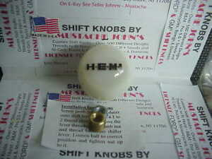 Hemi Custom Shift Knob Car Truck Hot Rod Motorcycle white