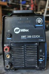 Miller Xmt 350 Cc cv Autoline W tig Solenoid And Cable Adapters