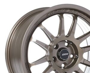 Cosmis Racing Xt206r 18x9 33 5x100 Bronze Concave set Of 4