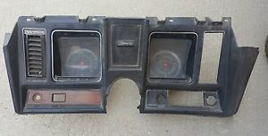 1969 69 Camaro Original Dash With Ac Delco Gauges Z 28 Ss Rs 396 302 Gm Oem Nice