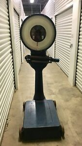 Vintage Toledo 1300 Pound Industrial Scale No 7552 Restored Clean Nice