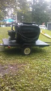 Sealcoating Tank And Spray Setup With Trailer Completely Refurbished