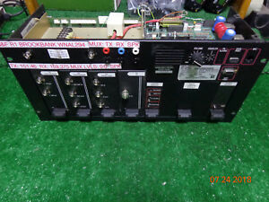 M a com Ge Harris Mastr Iii Vhf N Band Digital Radio Repeater Sxhmcx Rack Mnt 06