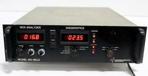 California Analytical Instruments 400 hcld Gas Analyzer