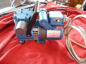 Millipore Air Compressor Pressure Vacuum Lab Pump Runs Perfect 60 Guarantee