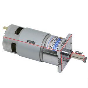 42ga775 Dc12v 24v 35 40w Micro Dc Gear Motor Large Torque Adjustable Speed Motor