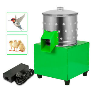 Chicken Dove Feather Plucking Machine Poultry Plucker Birds Depilator 550r min