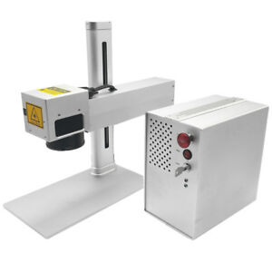 Infrared Laser Marking Machine For Metal And Plastic Peak Power 30kw 1064nm