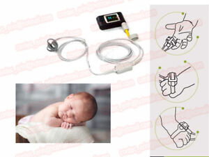 New Neonatal Infant Pediatric Kids Born Pulse Oximeter Spo2 Monitor Pc Software