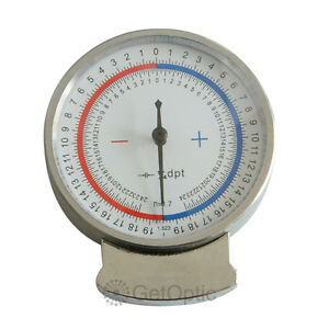 Ophthalmic Lens Clock Base Curve Optician Lens Measure a