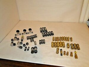 Mixed Lot Parker 316 Brass Fittings Valves unions Elbows Misc Pieces Free Ship