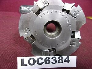 Mitsubishi Se400r0405d 4 Indexable Face Mill Cutter Loc6384