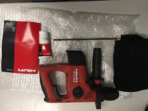 Hilti 22v Lithium Ion Sds Plus Cordless Rotary Hammer Drill Te 4 a Tool Only