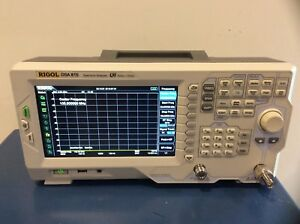 Rigol Dsa815 tg Tracking Generator Spectrum Analyzer