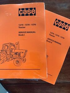Case Service Manual For 1270 1370 1570 Tractors Print Version For 3 Models