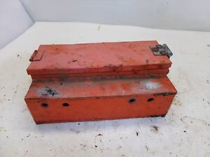 Allis Chalmers Wc Tractor Tool Box