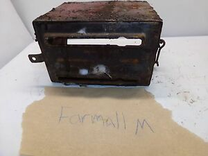 Farmall M Tractor Battery Box