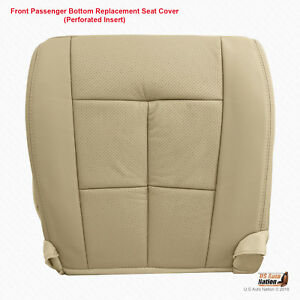 2010 2011 2012 Lincoln Navigator Front Right Bottom Leather Perforated Cover Tan