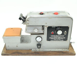 Pneumatic Heat Press For Patchs Logos On T Shirts Thermopress Model Hp8