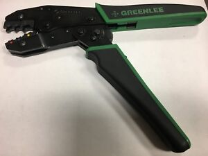 Greenlee Kwik Cycle Wire Ratchet Crimper 22 10 Awg