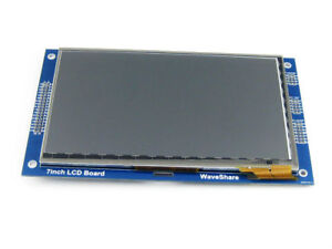Waveshare 7 Capacitive Touch Lcd c 800 480 Multicolor Graphic Tft Lcd Module