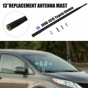 For 1998 2015 Toyota Sienna Antenna Mast Am Fm Radio Signal Reception 13 Black