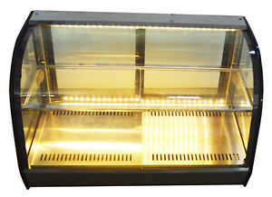 Bakery Warm Showcase Cake Display Cabinet Countertop Warmer Display Case 220v
