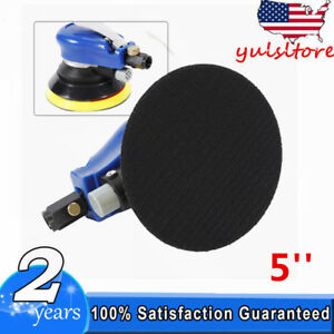 New 5 Air Palm Orbital Sander Random Hand Sanding Pneumatic Round Free Ship Us