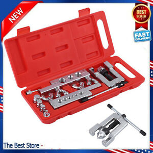 Heavy Duty Steel Tubing Flaring Swaging Tool Kit 45 Traditional Extrusion Type