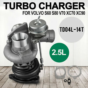 Up Turbo Charger For Volvo Xc70 Xc90 B5254t2 2 5l Td04l 14t 49377 06201 Vevor