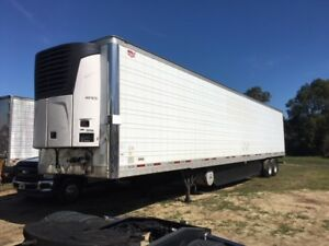 2010 Wabash 53 Reefer Trailer W Carrier 2500a Unit 100673